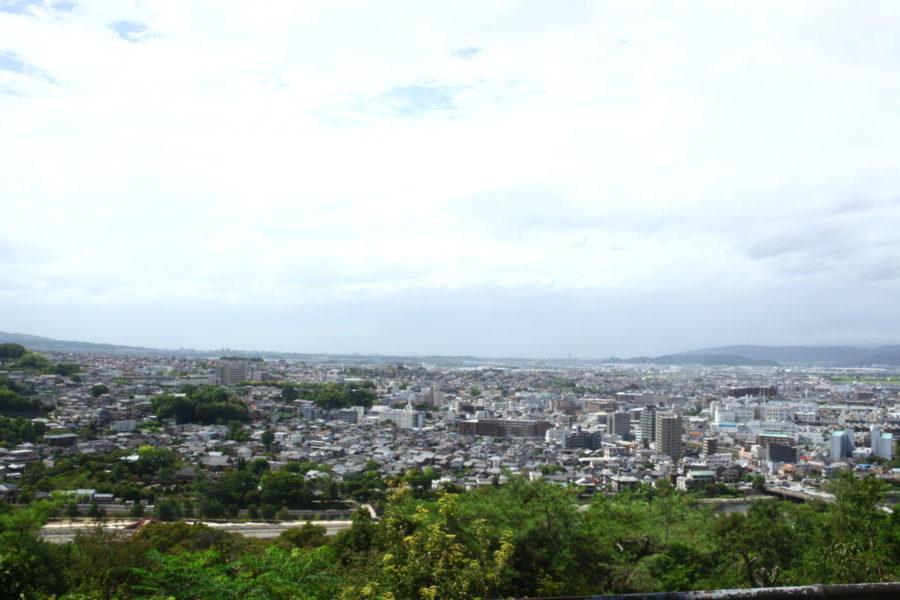 大吉山からの展望