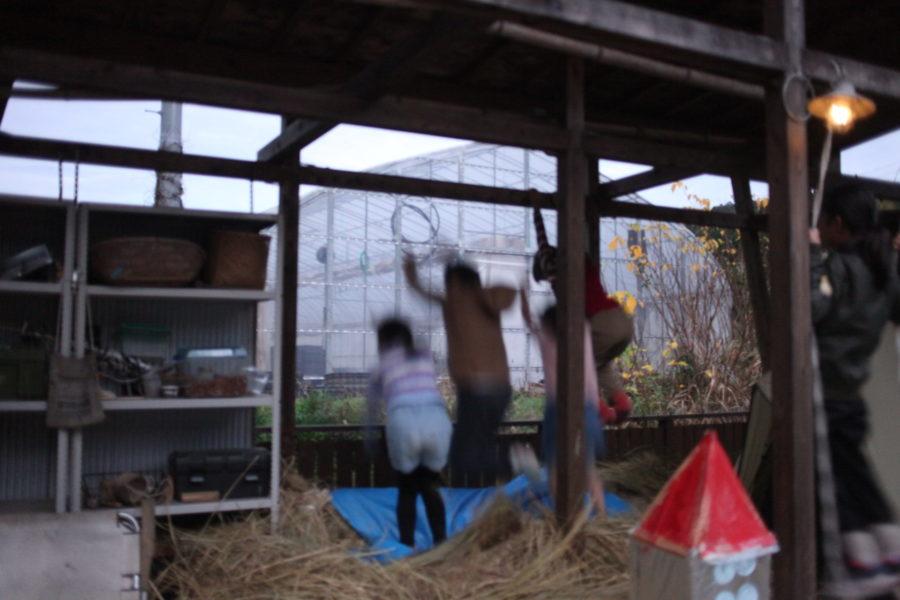 藁へジャンプ